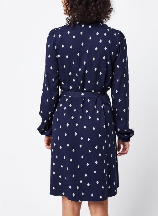Vêtements Vila Short Dresses Visuvita Bleu vue portées chaussures