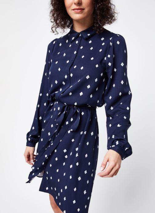 Vêtements Vila Short Dresses Visuvita Bleu vue droite