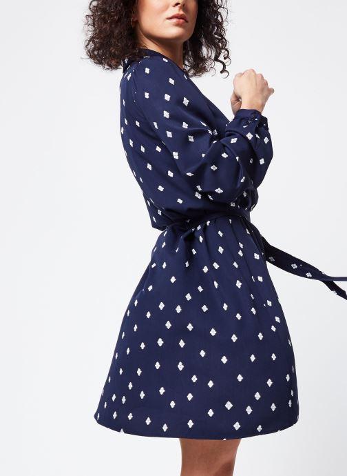 Vêtements Vila Short Dresses Visuvita Bleu vue détail/paire