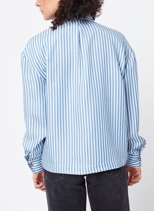 Kleding Vila Shirts Visuka Blauw model