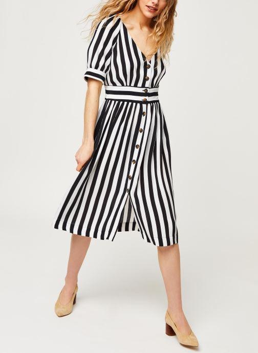 Kleding Vila Short Dresses Visusassy Wit onder