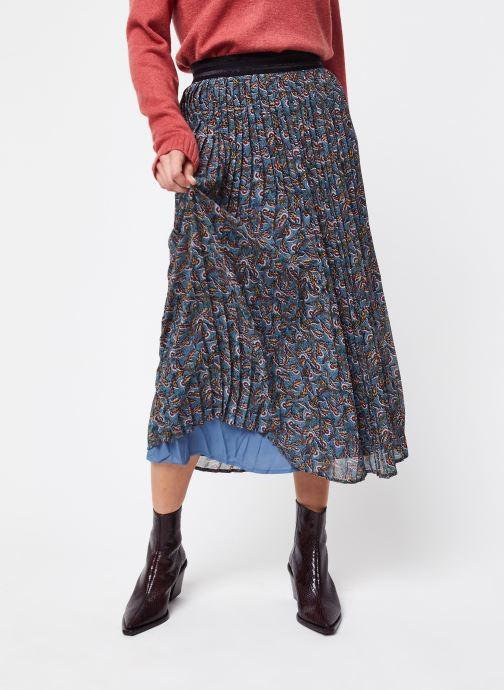 Vêtements Vila Long Skirts Vieloise Bleu vue détail/paire
