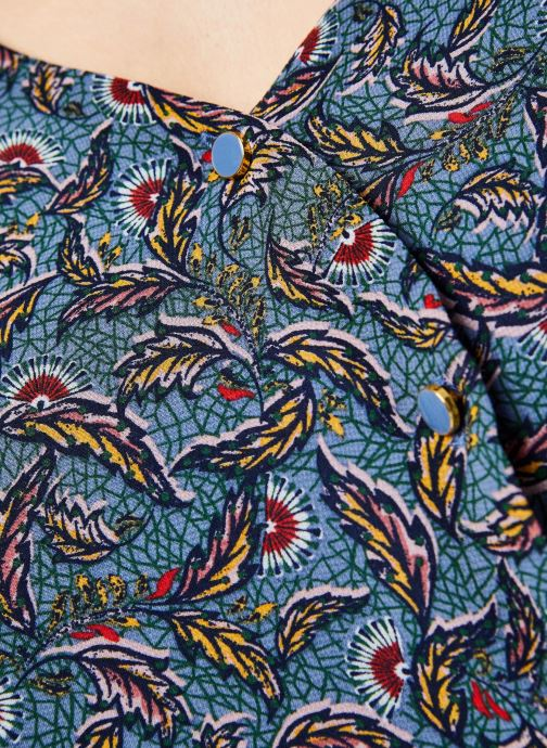 Vêtements Vila Shirts Vieloise Bleu vue face