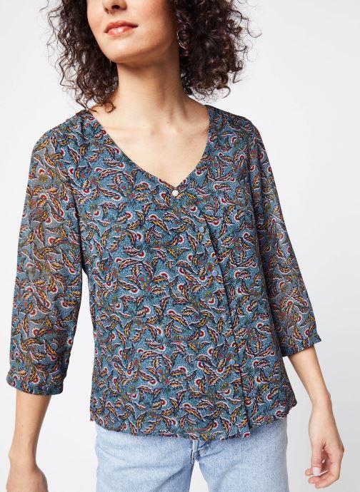 Vêtements Vila Shirts Vieloise Bleu vue droite