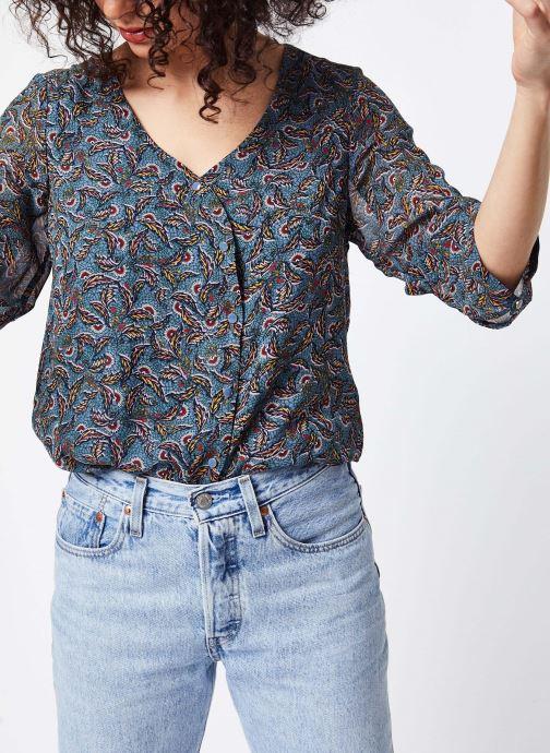 Vêtements Vila Shirts Vieloise Bleu vue détail/paire
