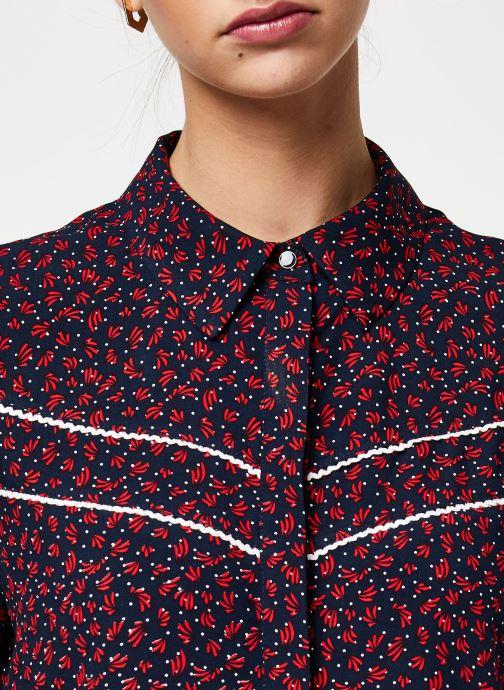Vêtements Vila Tops Vigiulia Bleu vue face
