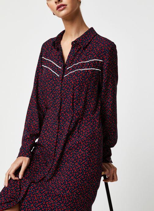 Vêtements Vila Long Dresses Vigiulia Bleu vue détail/paire