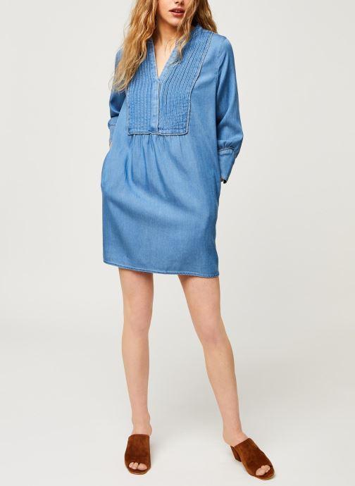 Vêtements Vila Short Dresses Vimakenna Bleu vue bas / vue portée sac