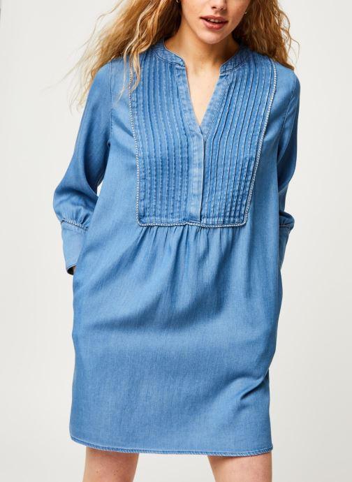 Vêtements Vila Short Dresses Vimakenna Bleu vue droite