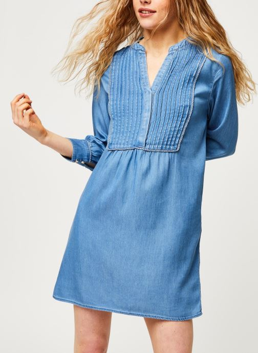 Vêtements Vila Short Dresses Vimakenna Bleu vue détail/paire