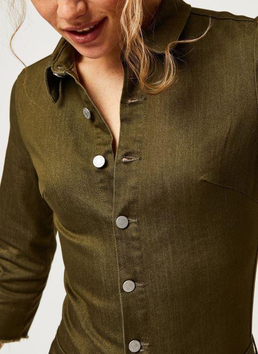 Vêtements Vila Pants Vibarkan Vert vue face
