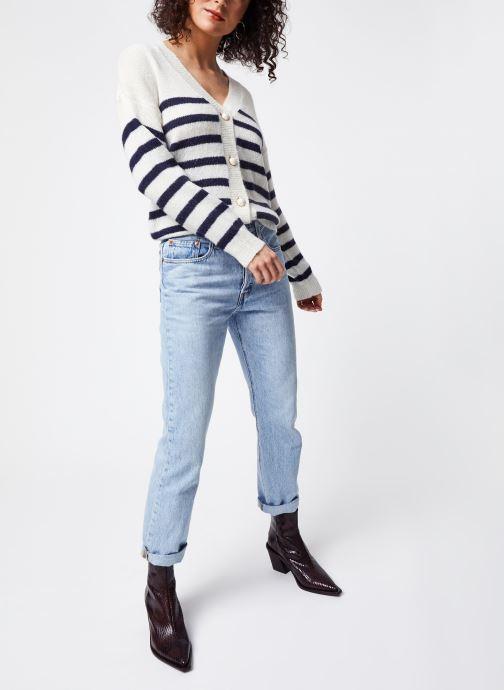 Vêtements Vila Tops Vigood Blanc vue bas / vue portée sac