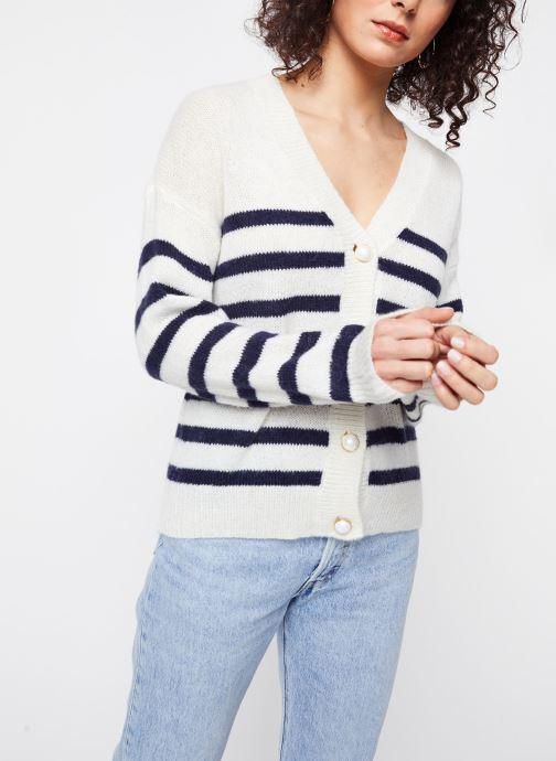 Vêtements Vila Tops Vigood Blanc vue droite
