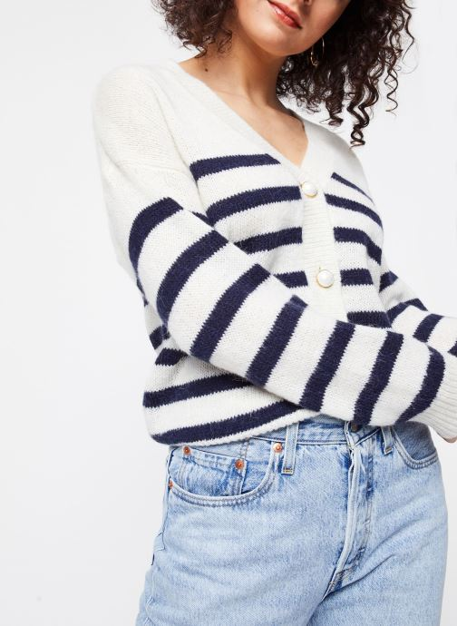 Vêtements Vila Tops Vigood Blanc vue détail/paire