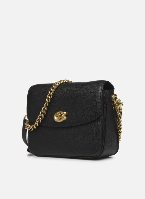 Handtaschen Coach Cassie Crossbody schwarz schuhe getragen