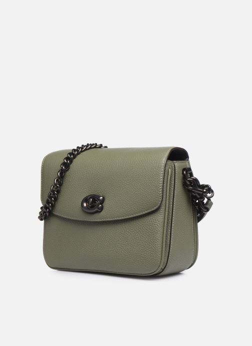 Handtaschen Coach Cassie Crossbody grün schuhe getragen