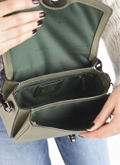 Handtaschen Coach Cassie Crossbody grün ansicht von hinten