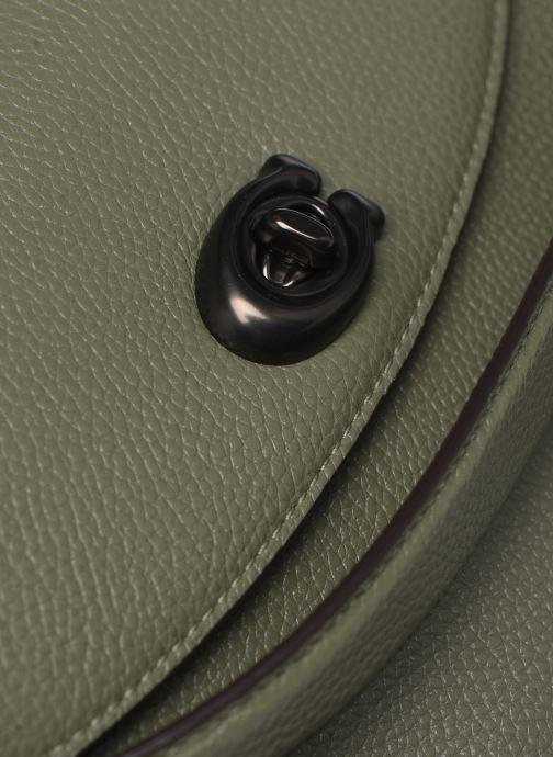 Handtaschen Coach Cassie Crossbody grün ansicht von links