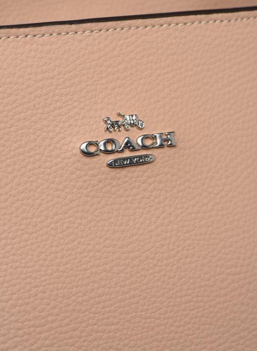 Borse Coach Central Tote Beige immagine sinistra