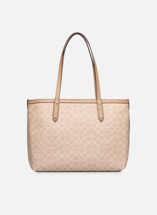 Sacs à main Coach Central Tote Beige vue face
