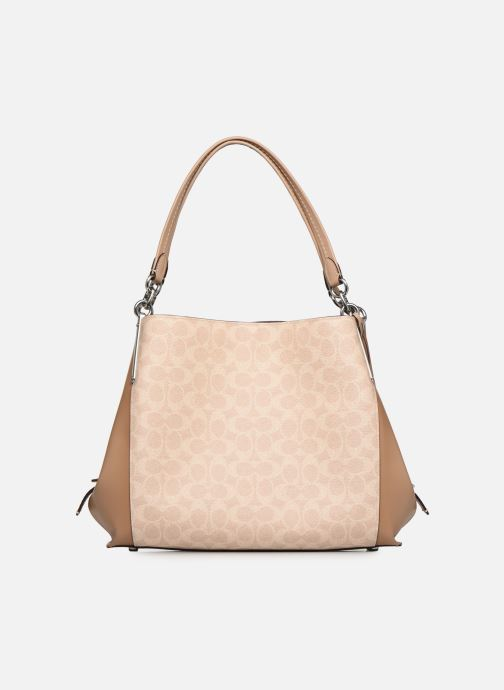 Handtaschen Coach Dalton 31 beige detaillierte ansicht/modell