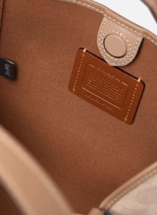 Handtaschen Coach Hadley Hobo 21 braun ansicht von links