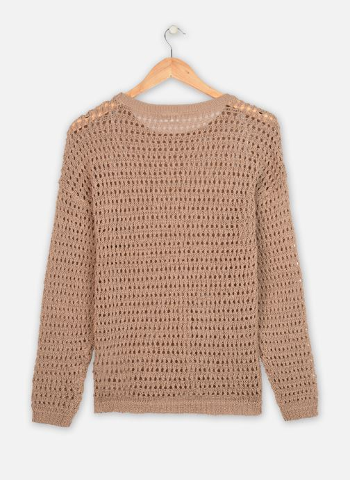 Kleding Vila L/S Knit VILELAS Bruin model