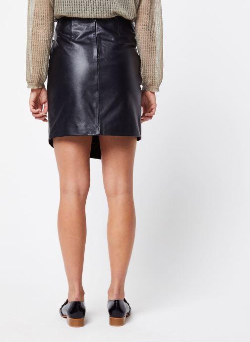 Vêtements Vila Short Skirts VICATES Noir vue portées chaussures