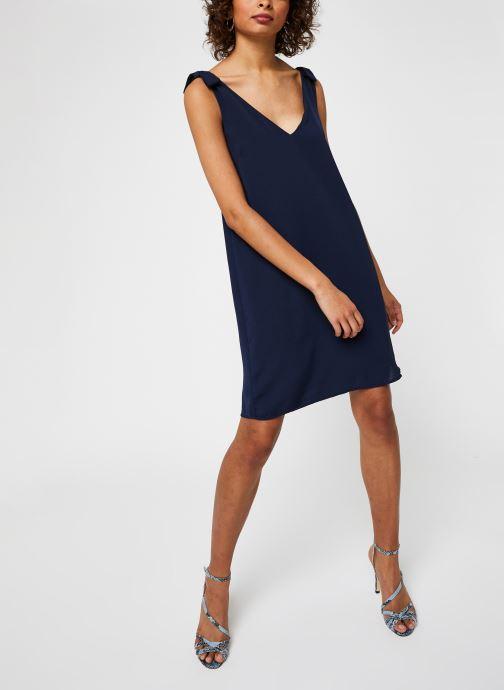 Vêtements Vila Short Dresses VIJAHULA Bleu vue bas / vue portée sac
