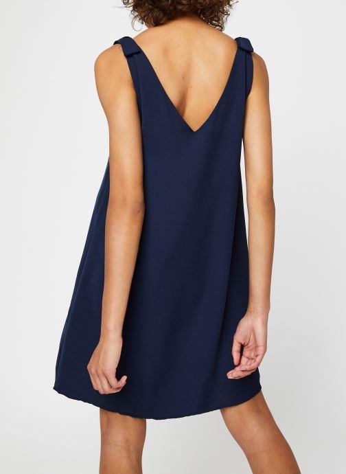 Vêtements Vila Short Dresses VIJAHULA Bleu vue portées chaussures