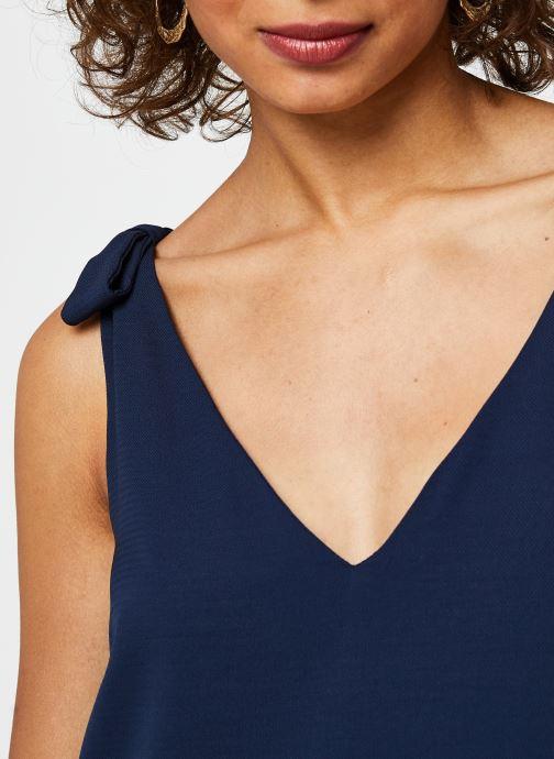 Vêtements Vila Short Dresses VIJAHULA Bleu vue face