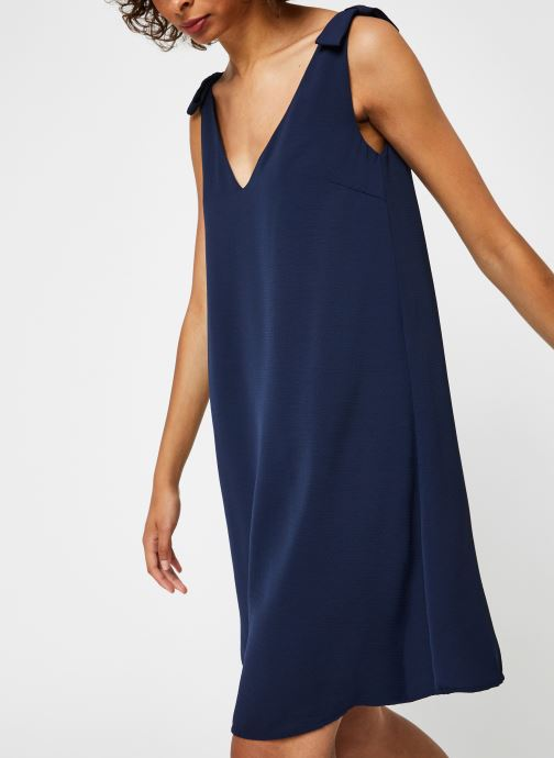 Vêtements Vila Short Dresses VIJAHULA Bleu vue droite