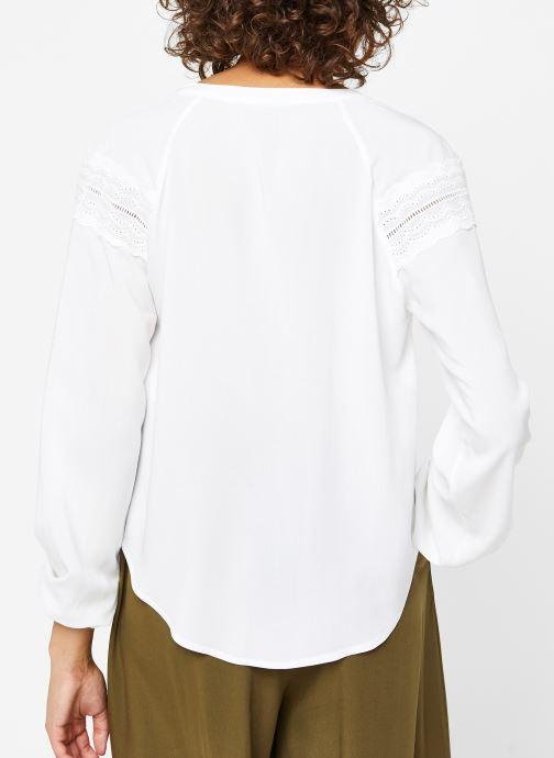 Kleding Vila Shirts VIMOLUNA Wit model