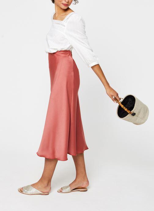 Vêtements Vila 3/4 Tops VIGITTY Blanc vue bas / vue portée sac