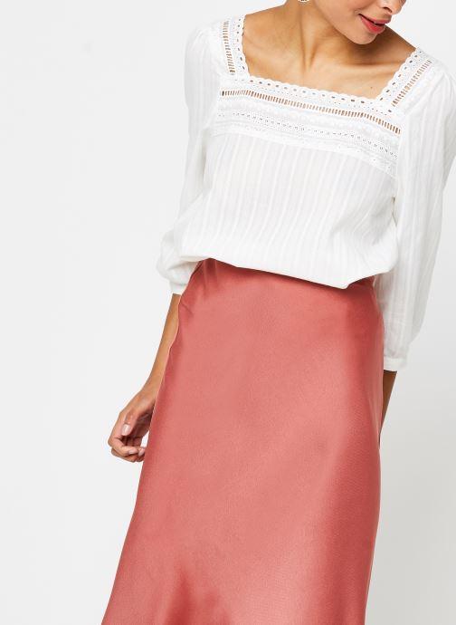 Vêtements Vila 3/4 Tops VIGITTY Blanc vue détail/paire