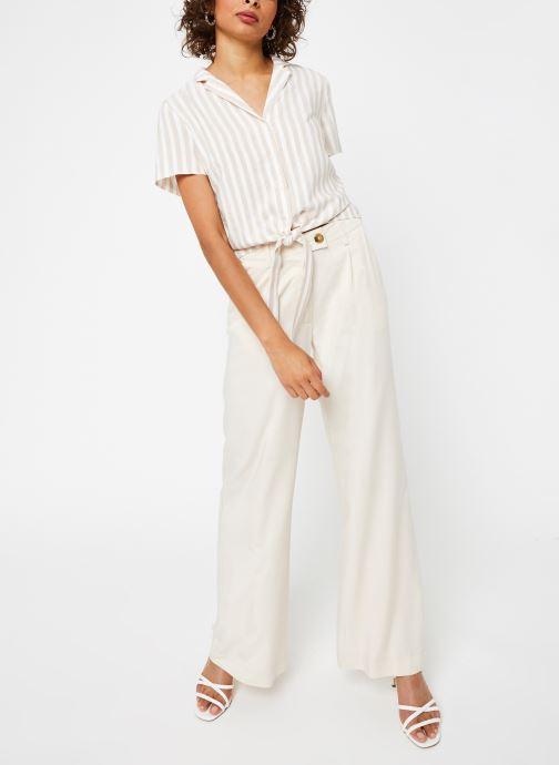 Vêtements Vila S/S Shirts VISOVERA Beige vue bas / vue portée sac