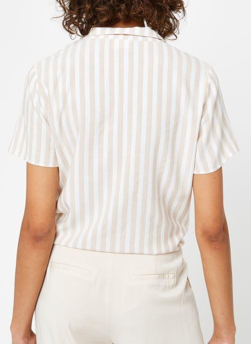 Vêtements Vila S/S Shirts VISOVERA Beige vue portées chaussures