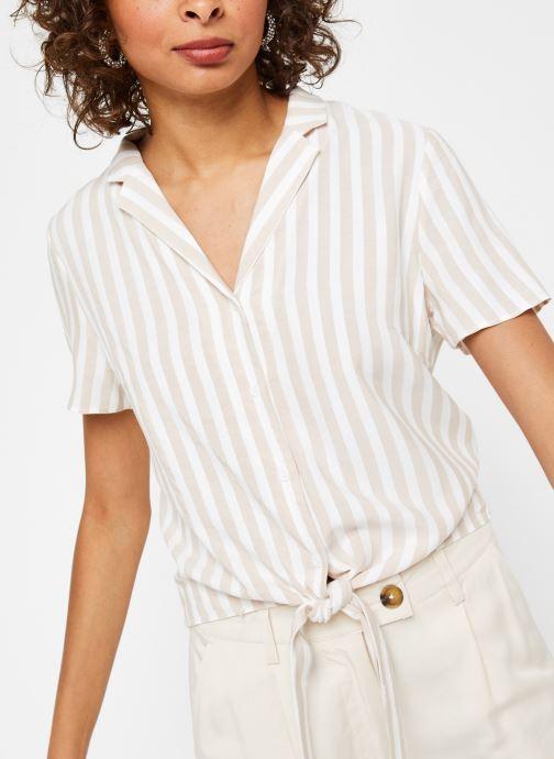 Vêtements Vila S/S Shirts VISOVERA Beige vue détail/paire