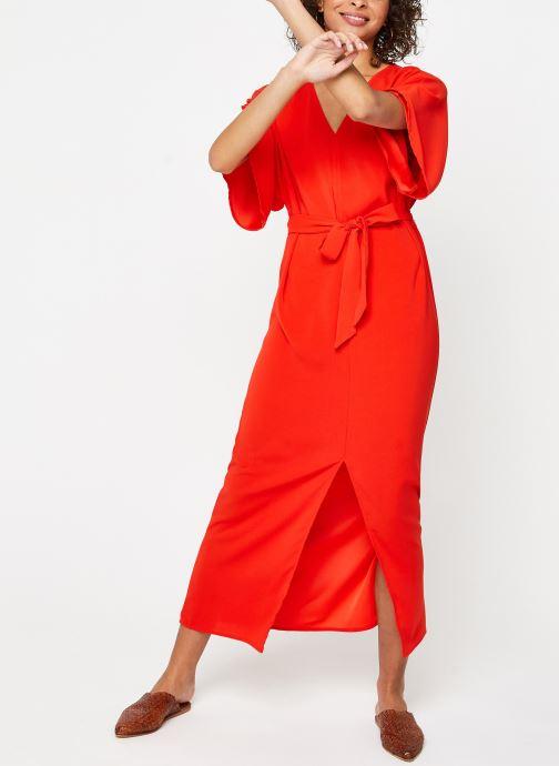 Kleding Vila Long Dresses VIMILENA Rood onder