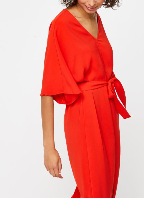 Kleding Vila Long Dresses VIMILENA Rood rechts