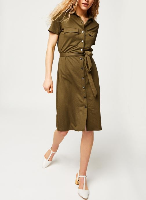 Vêtements Vila Short Dresses VISAFINA Vert vue bas / vue portée sac