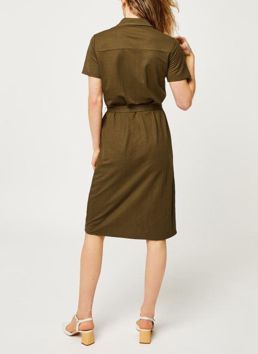 Vêtements Vila Short Dresses VISAFINA Vert vue portées chaussures
