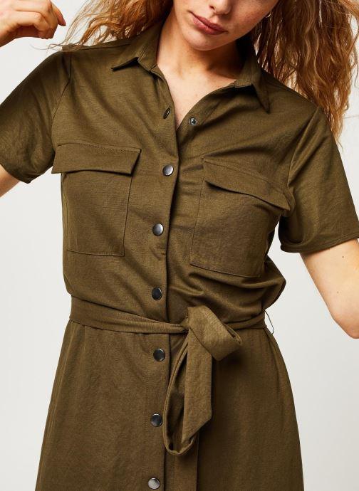 Vêtements Vila Short Dresses VISAFINA Vert vue face