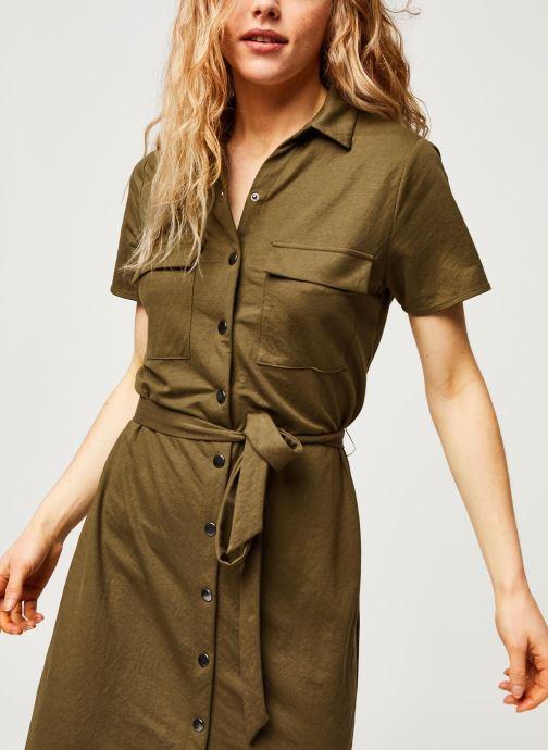 Vêtements Vila Short Dresses VISAFINA Vert vue détail/paire