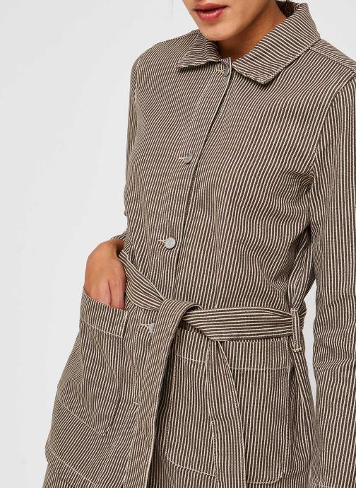 Vêtements Vila Jackets VIHILVA Vert vue face