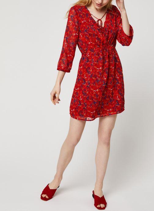 Vêtements Vila Short Dresses VIMARIMA Rouge vue bas / vue portée sac