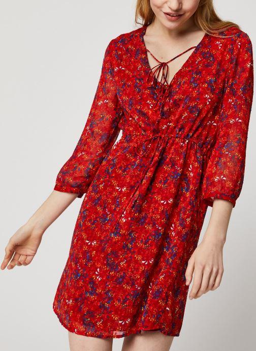 Vêtements Vila Short Dresses VIMARIMA Rouge vue droite