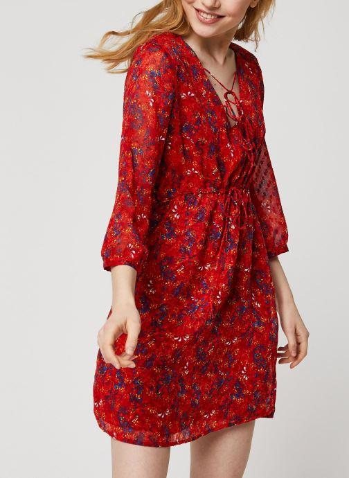 Vêtements Vila Short Dresses VIMARIMA Rouge vue détail/paire