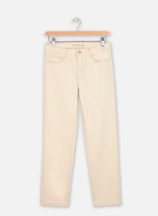 Vêtements Vila Jeans VIGLOVE Beige vue détail/paire