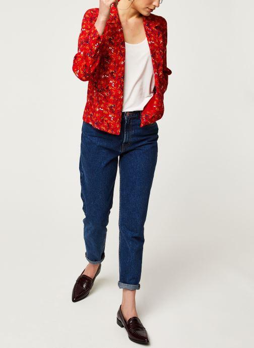 Vêtements Vila Blazers VIRITA Rouge vue bas / vue portée sac